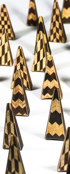 """Geometrie"" pendants by Simone Frabboni jewelry"