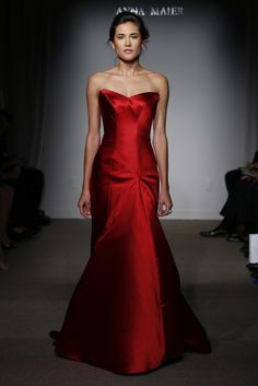 Anna Maier Bridal Fall 2015 - Slideshow - Runway, Fashion Week, Fashion Shows, Reviews and Fashion Images - WWD.com