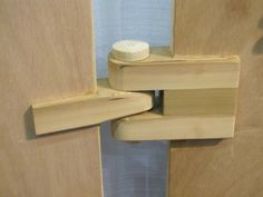 Wooden hinge | Flickr - Photo Sharing!