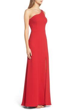 Main Image - Xscape Crepe Gown