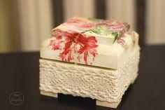 """Свадебная шкатулка для колец """"Flowers"""""""