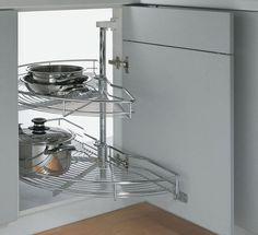 Угловой шкафчик на кухню