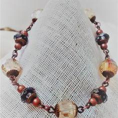 Pulsera Murano Ambar Beaded Necklace, Beaded Bracelets, Casual, Jewelry, Fashion, Bead Necklaces, Beaded Collar, Moda, Jewlery