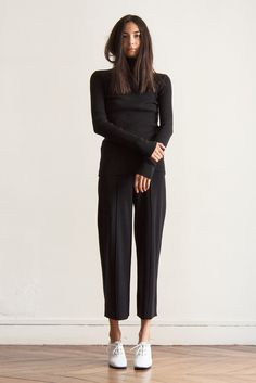 Ribbed turtleneck black by GREY COMMA · Grey Comma
