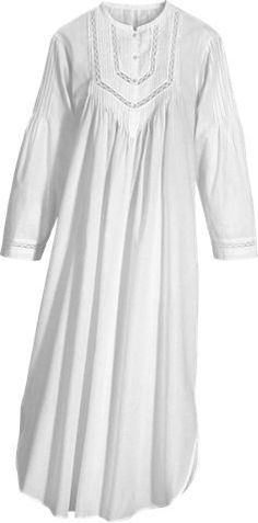 9210f99195 Cotton nightgown s White Nightgown