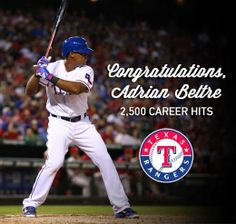 a2b111c6e7c Google+ Congratulations to Adrian Beltre for chalking up 2