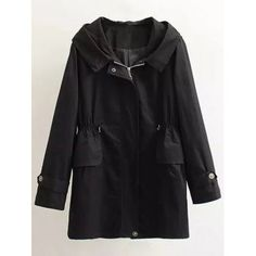SHARE & Get it FREE | Plus Size Letter Embroidery Hooded Trench CoatFor Fashion Lovers only:80,000+ Items·FREE SHIPPING Join Dresslily: Get YOUR $50 NOW!