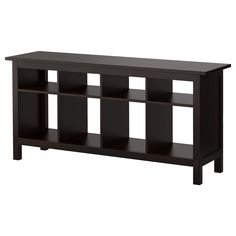 HEMNES Sofa table - black-brown - IKEA