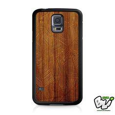 Geomatric Line Wood Samsung Galaxy S5 Case