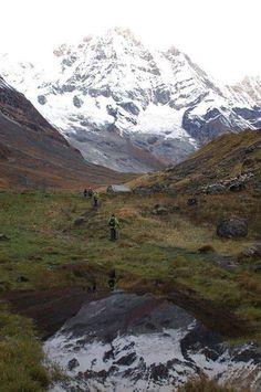 Trekking Trail in Annapurna Region  www.riverholidaysnepal.com