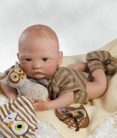 97057330750ba Realistic Handmade Baby Doll Newborn Lifelike Vinyl Weighted Alive Reborn  Boy