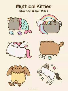 Mythischen Kätzchen