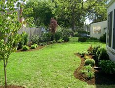 landscaping along fences | The Back of the Fence – AFTER (3) | A & J Landscape Design, LLC