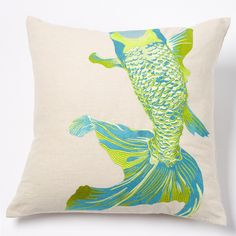 Acid Whole Baby Fish Pillow by emma at home