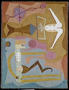 Victor Brauner / Les Voies Abandonnee 1962