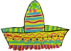 Fun Sombreros for 3rd graders! Love to try this one out soon!
