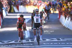 #TDF2017 104th Tour de France 2017 / Stage 14 Arrival / Michael MATTHEWS (AUS) Celebration / Greg VAN AVERMAET (BEL)/ Blagnac - Rodez-Cote de Saint-Pierre 563m (181,5km)/ TDF/