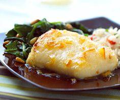 Glazed Fish Recipe
