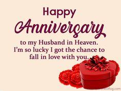 Happy Anniversary in Heaven - Heavenly Anniversary Wishes