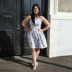 Flora dress mmmay15 me made may 2015