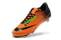 d1a45f9c61c Nike Mercurial 2013 Cristiano Ronaldo Cleats Vapor IX Firm Ground Boots -  Orange Black