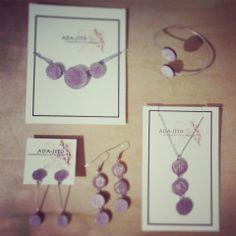 bijoux ada-jito jewellery Washer Necklace, Place Cards, Place Card Holders, Jewellery, Fashion, Moda, Jewels, Fashion Styles, Schmuck