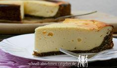Käsekuchen Low Carb - Unser liebster Käsekuchen