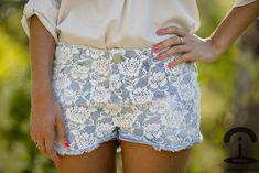 DIY Lace shorts DIY - Crímenes de la Moda
