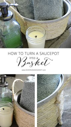 How to repurpose old pots and pans