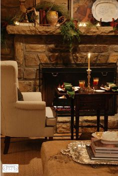 Take time out of the rush for a romantic dinner by candlelight in your living room.