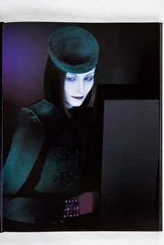 Serge Lutens    She knows something...but what?