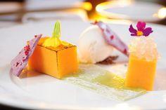 Papaya Pudding - InterContinental   Hong Kong- via Creatividad Gastronomica