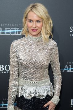 WHO: Naomi Watts   WHERE: The Divergent Series: Allegiant premiere, New York City  WHEN: March 15, 2016