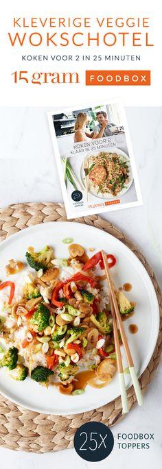 In de Aziatische keuken gaan ze altijd op zoek naar een balans tussen zoet, zout, zuur en pittig. Deze veggie wokschotel is daar het ideale voorbeeld van.