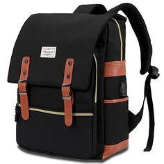 9793942d71 Modoker Vintage Laptop Backpack for Women Men