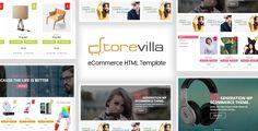 StoreVilla - Multipurpose eCommerce Template http://themeforu.com #webdesign #website #design #responsive #besttemplates #template #SiteTemplates #Retail #Shopping