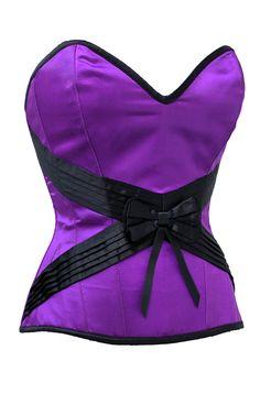 The Violet Vixen - Seduction Embrace Violet Purple-Black Corset, $86.67 (http://thevioletvixen.com/corsets/seduction-embrace-violet/)