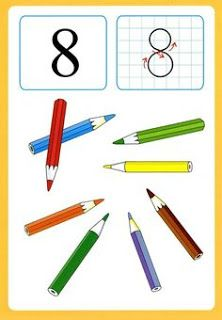 Preschool and Homeschool Kindergarten Projects, Kindergarten Math Activities, Math Games, Preschool Activities, Numbers Preschool, Math Numbers, Number Flashcards, French Numbers, Kids Math Worksheets