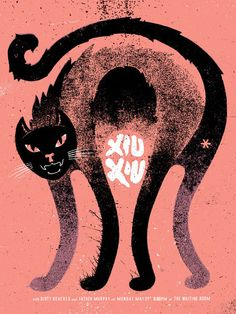 Xiu Xiu + Dirty Beaches + Father Murphy poster by Doe Eyed http://jungleindierock.tumblr.com/post/24675910853/xiu-xiu-poster