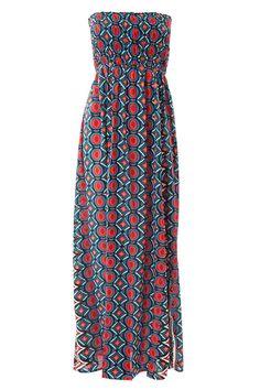 Bandeau Red Maxi Dress by Charlotte's Web | Charlotte's Web