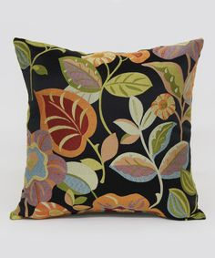 Loving this Tropical Tenille Throw Pillow on #zulily! #zulilyfinds