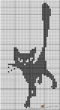Fair Isle Knitting Patterns, Knitting Paterns, Knitting Charts, Gato Crochet, Crochet Cat Pattern, Cross Stitching, Cross Stitch Embroidery, Cross Stitch Patterns, Quilt Square Patterns