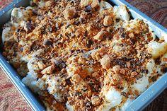 Butterfinger Dessert - simple to do!