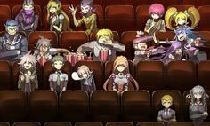 Tags: Anime, Pixiv Id 1608609, Danganronpa 3: The End of Kibougamine Gakuen - Mirai-hen, Super Danganronpa 2, Pekoyama Peko, Mioda Ibuki, Hanamura Teruteru