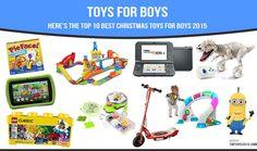 Top Christmas Toys for Boys 2015