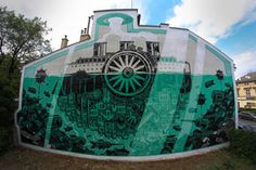M-city estuvo recientemente en Krakow, Polonia para el ArtBoom Festival donde pintó un mural al lado de la casa de un afamado artista polaco, Jósef Mehoffer, en donde ahora es un museo. El interior del edificio es casa de muebles antiguos, candelabros, relojes, libros, y otras obras de arte, incluyendo numerosas obras or el artista como retratos decorativos, dibujos, óleos y demás. Este lugar es un destino turístico para muchas personas y ahora la casa de un excelente mural por M-city.