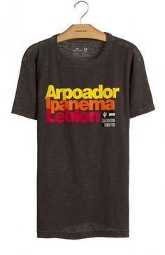 Osklen - T-SHIRT ROUGH ARP IPA LEB MC - t-shirts - men