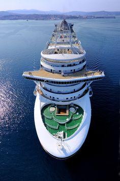 Barco de Crucero de Princesa De rubíes, Viajes de Princesa