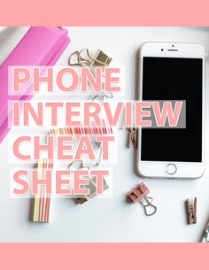 Have a phone interview coming up? Make sure you read this first! http://www.classycareergirl.com/2012/06/8-ways-to-nail-a-phone-interview/