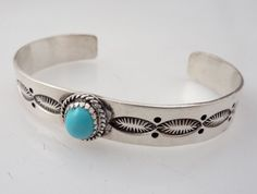 Vintage Sterling Native American Decorated by MindiLynJewelry, $74.00